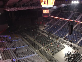 Palco Swiss WiZink Center 1